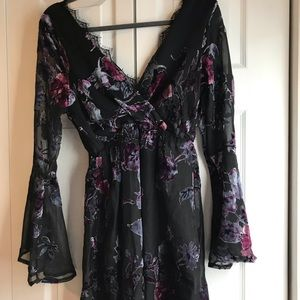 Nordstrom Velvet Dress